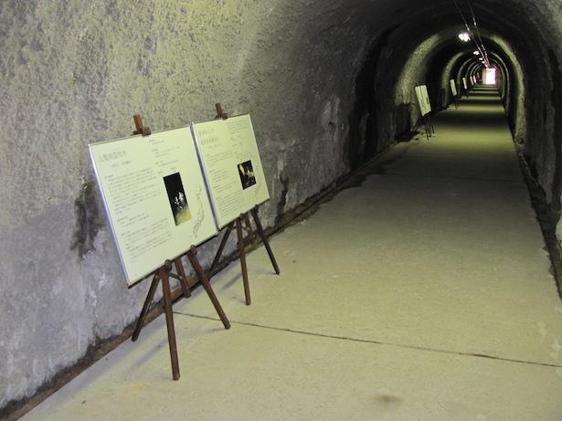捕獲場トンネル