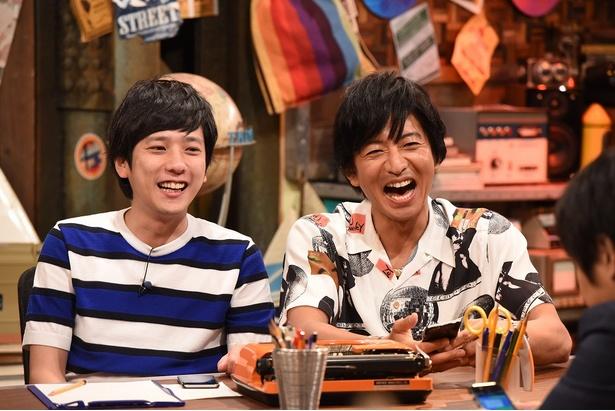 9月2日(日)、9日(日)放送の「ニノさん」に木村拓哉が初登場! MC・二宮和也ととっても楽しそう♪