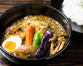 米と野菜がうまい! 農家がプロデュースする絶品スープカレー