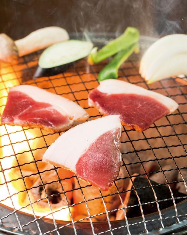 GABAI いのしし食彩 / 「特上いのしし焼肉」(1人前1400円 ※写真は2人前)