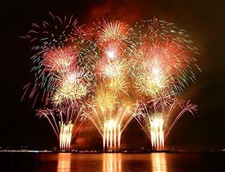 今年は2日間で2万発!「泉州 光と音の夢花火」
