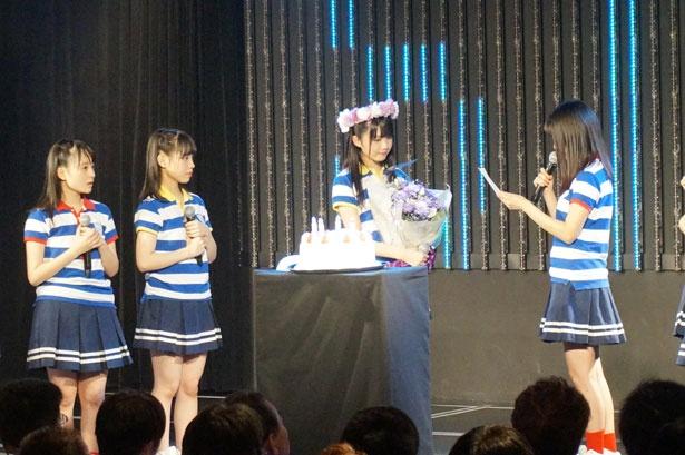 市岡愛弓の生誕祭が行われた!