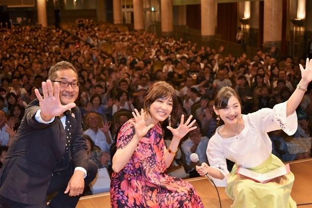 『西郷どん』のパブリックビューイングが大阪市中央公会堂で行われた