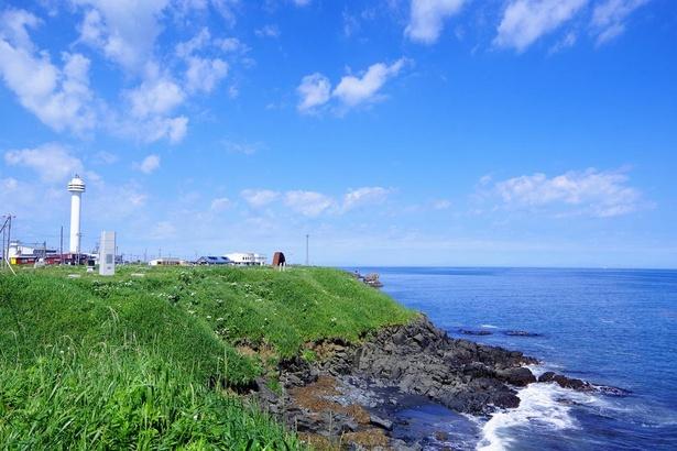 納沙布岬周辺の風景
