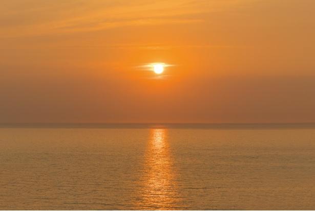 夕陽ヶ丘展望所 / 夕日が沈む景色もキレイ