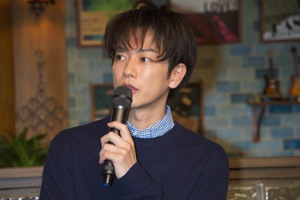 """朝ドラと""""半分、青い。""""を特集した「うたコン」で和子(原田知世)との共演について語った佐藤健"""