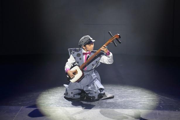 「道頓堀GOTTA」では歌舞伎や三味線など日本楽器も用いる
