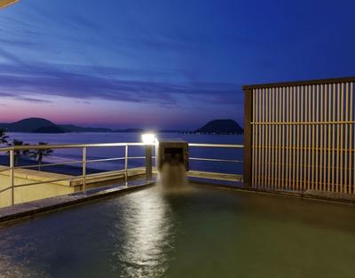 唐津シーサイドホテル / 唐津湾の絶景を温泉に入りながら堪能できる