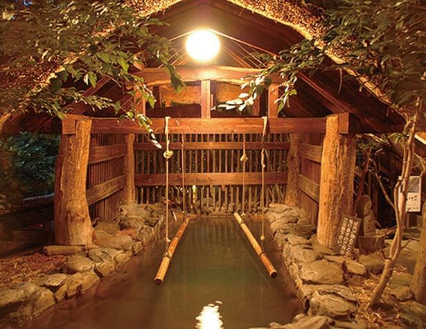いこい旅館 / 露天「美人の湯」は美肌効果が高く、もっちり肌に!