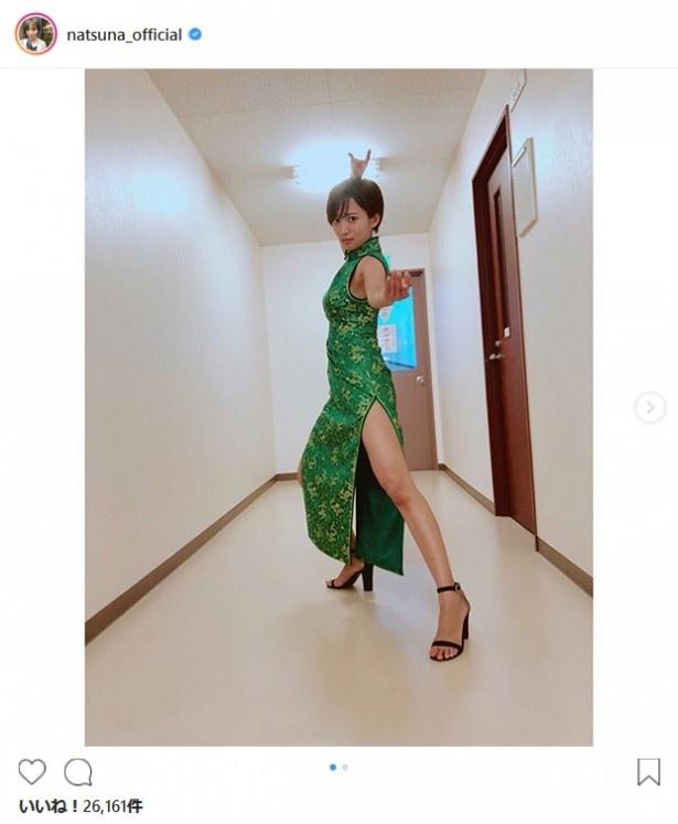 ※画像は夏菜(natsuna_official)公式Instagramのスクリーンショット