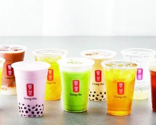 世界で約1400店を展開する台湾茶専門店「ゴンチャ」。日本には2015年に東京へ初上陸した