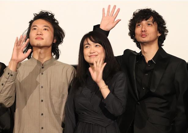新人・金井浩人、先輩の池脇千鶴&安藤政信に感謝!