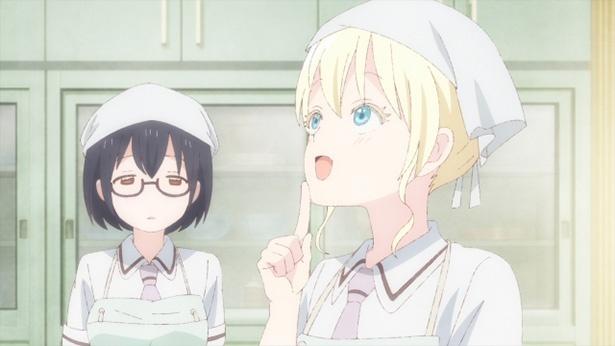 「あそびあそばせ」第10話の先行カットが到着。オリヴィアが藤原さんに怯え始め…!?