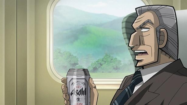 「中間管理録トネガワ」第11話の先行カットが到着。出張中にビールを飲んでいたら…