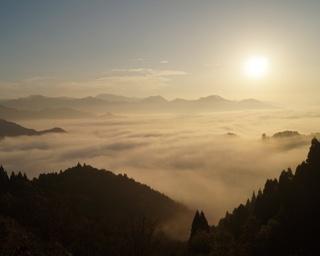 国見ヶ丘 / 阿蘇山や祖母連山のパノラマが広がる