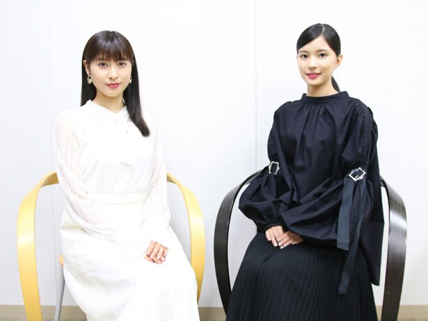 映画『累 -かさね-』でW主演を務めた土屋太鳳、芳根京子にインタビュー