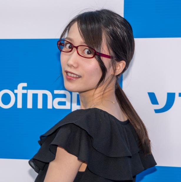 「月刊 RANKING」囲み取材に登壇した加藤里保菜