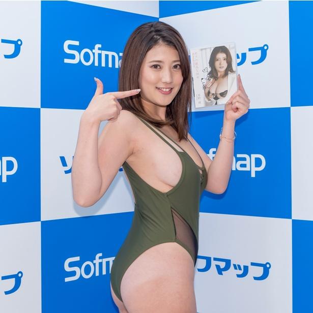 草野綾DVD「ボクの最高な彼女」(ギルド)発売イベントより