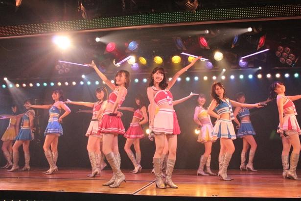 高橋朱里チームB「シアターの女神」公演が初日を迎えた