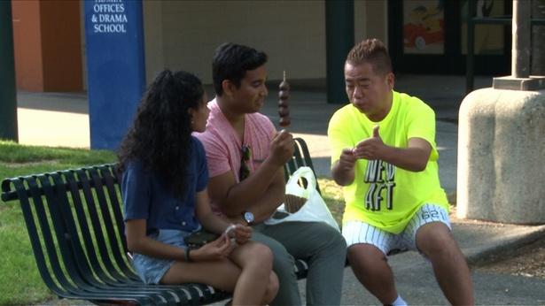 9月9日(日)放送の「世界の果てまでイッテQ!」で一生懸命英語で話し掛ける出川哲朗