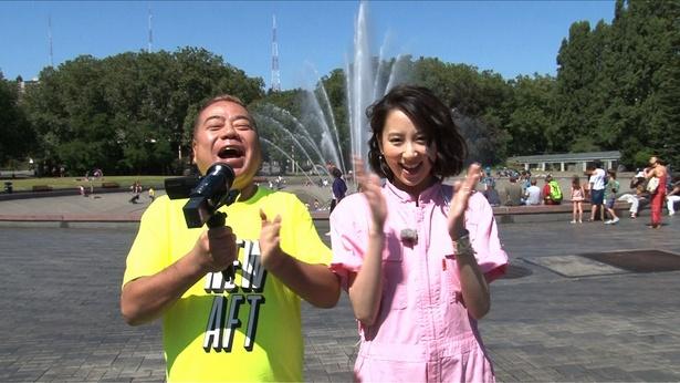 【写真を見る】出川哲朗を見守る河北麻友子がかわい過ぎる!
