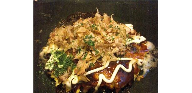 イベリコ豚お好み焼きの完成!
