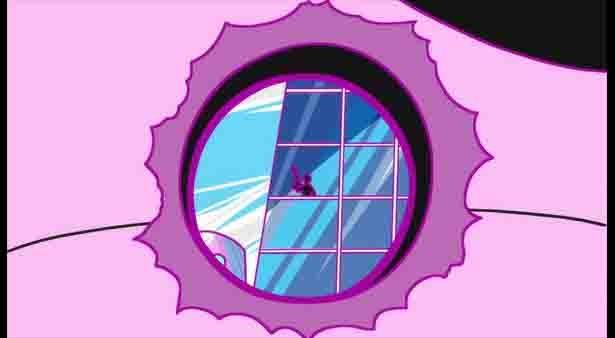 「深夜!天才バカボン」第10話の先行カットが到着。天才児ハジメが発明したタイムマシンで…