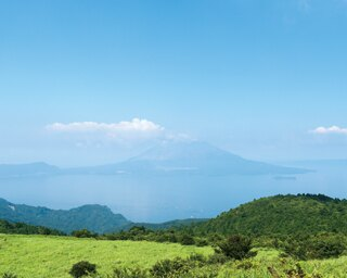 狐ヶ丘高原 / 桜島、錦江湾、霧島連山などを一望できる