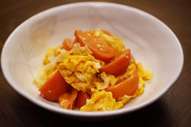 原作者・筒井ともみのこだわりが詰まったトマトと卵と白きくらげの炒め物