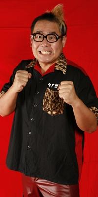 DDTでのプロレスラーとしての顔はこんな感じ