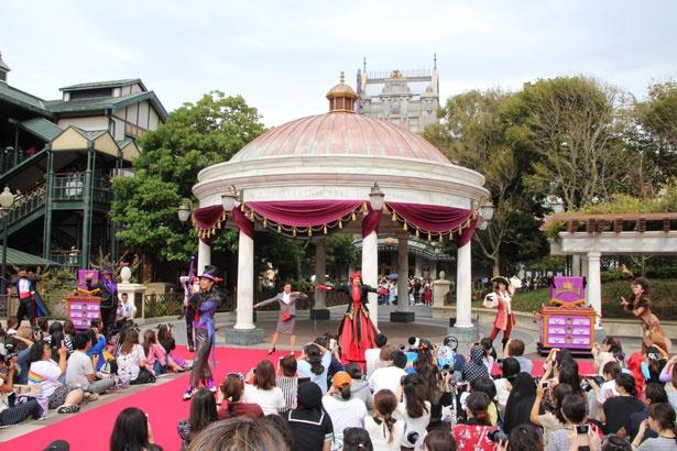 「ヴィランズ・ハロウィーン・パーティー」はウォーターフロントパークにて実施
