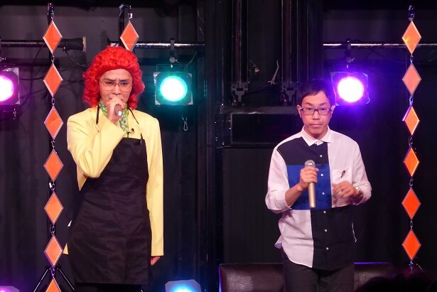 アイデンティティの田島直弥(左)と見浦彰彦(右)が「冗談騎士」(BSフジ)に登場!