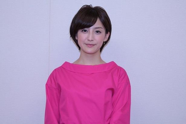 「2018年バクー世界柔道選手権大会」で中継キャスターを務める宮司愛美アナ