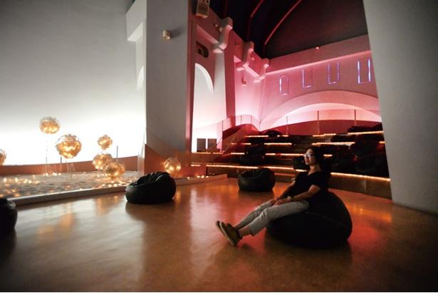 天草四郎 ミュージアム / 民衆の魂が昇天する様子を音楽と光で表現した空間