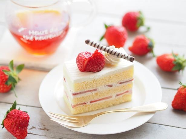 【写真】イチゴたっぷりのショートケーキも綺麗にカット