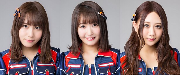 (写真左から)大場美奈、惣田紗莉渚、古畑奈和