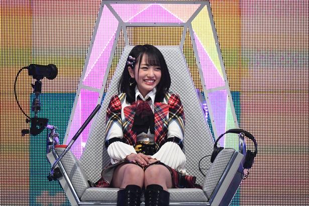 AKB48の向井地美音が初出場