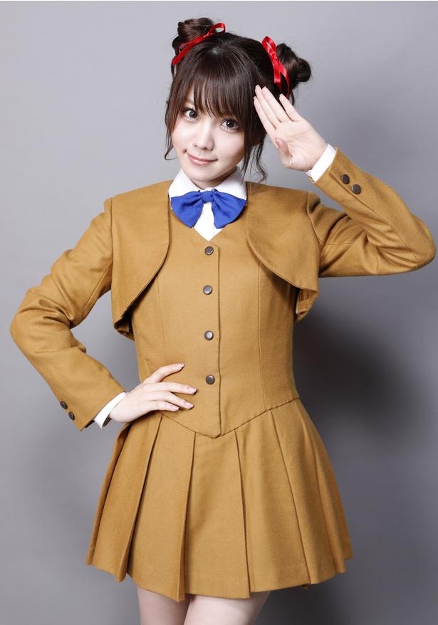10月13日から始まるアミプロ主催のミュージカル「ふしぎ遊戯 -蒼ノ章-」には田中れいなが主演・夕城美朱役で出演する