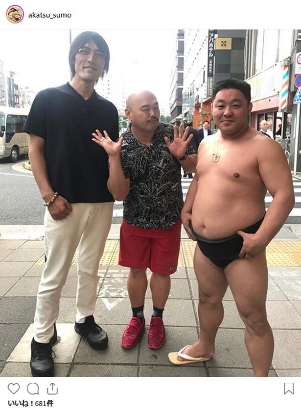 【写真を見る】相撲芸人のあかつはたびたび「水曜日のダウンタウン」に登場
