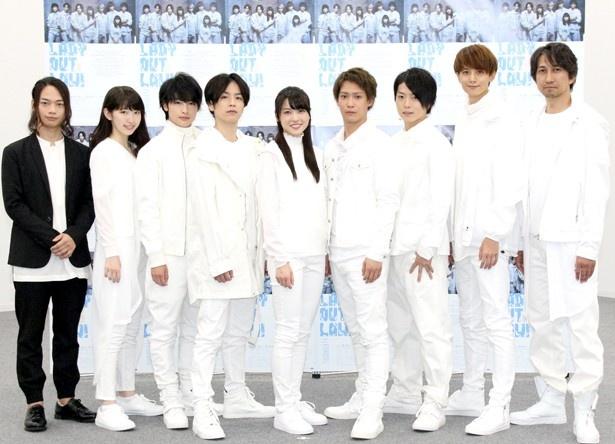 矢島舞美は、共演者について「皆さん本当に面白い」と語る