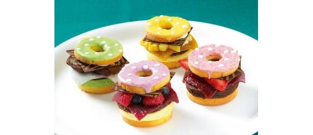 西日本ハンバーガー協会プロデュース「ドーナツバーガー」。女子のハートをわしづかみするビジュアル♪