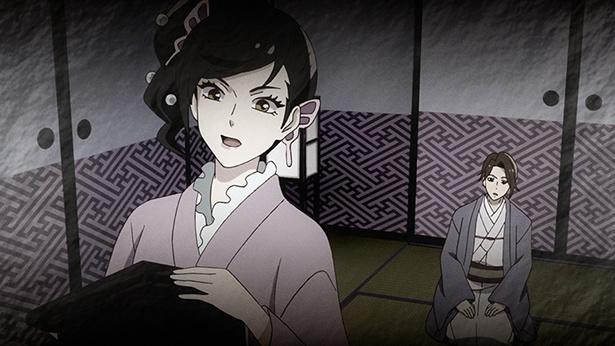 「つくもがみ貸します」第9話の先行カットが到着。お紅がかつて愛を告げられた佐太郎に!?