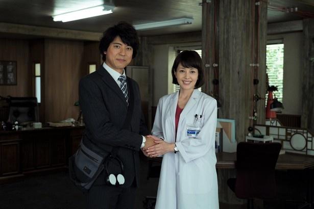 【写真を見る】糸村(上川隆也)とマリコ(沢口靖子)の夢コラボ! 果たして共演シーンは?