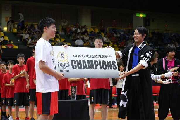 EXHIBITION GAME U15 TOKAIも開催。三遠ネオフェニックスがブザービーターで劇的な優勝を!