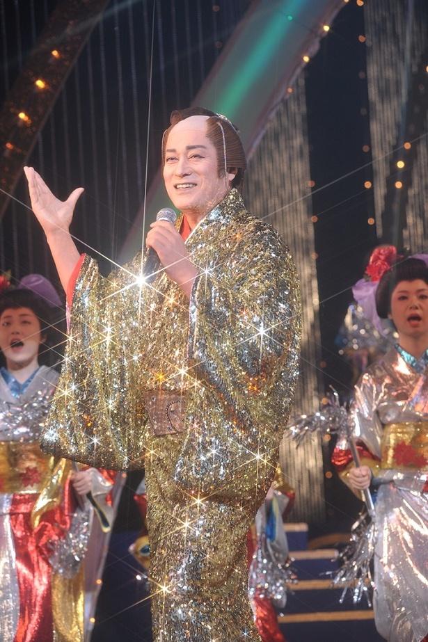 松平健は「マツケンサンバII」を披露!