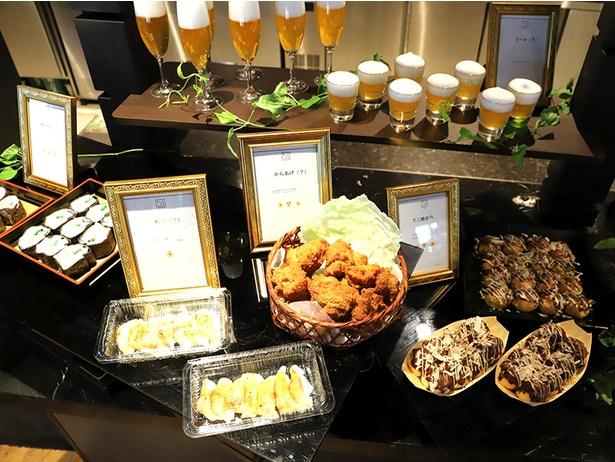 寿司、唐揚げ、お好み焼き、たこ焼き、ビールがスイーツに!アートホテル大阪ベイタワーで本物そっくり「トリックフード」を試食レポ