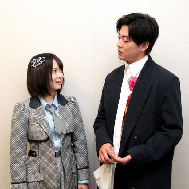 【写真を見る】共演シーンは少なかった大東駿介と倉野尾成美だが、インタビューでは話が弾んだ