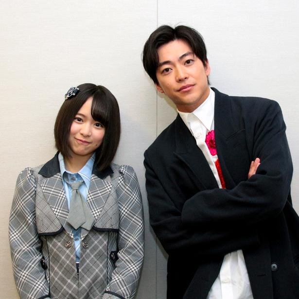 【写真を見る】インタビュー中は、大東駿介がリードする形で倉野尾成美も積極的に発言した