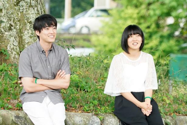大東駿介は俳優ではなく大学生・大海夏生として、佐藤佑香さんら地元の人たちと接した