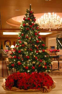 海外のクラシックなクリスマスを楽しむなら「ホテルインターコンチネンタル東京ベイ」へ